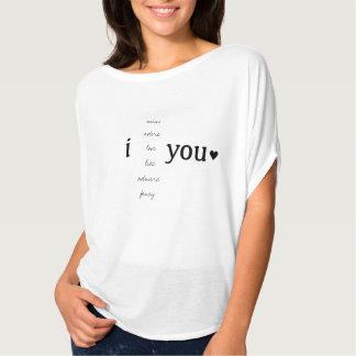 I (感じ) Tシャツ