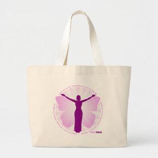 """<i>毎日のWord®</i> """"治療の""""キャンバスのバッグ ラージトートバッグ"""