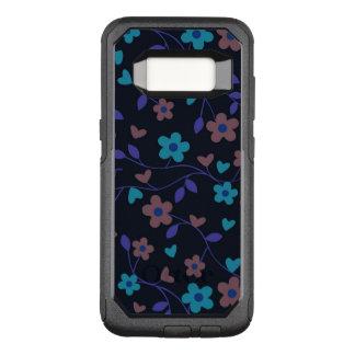 (i)美しい花柄415D オッターボックスコミューターSamsung Galaxy S8 ケース