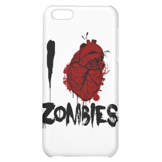 I|血|ハート|ゾンビ iPhone5Cカバー
