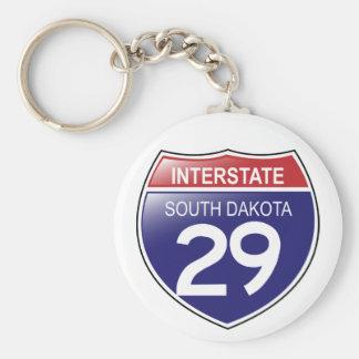 I-29サウスダコタKeychain キーホルダー