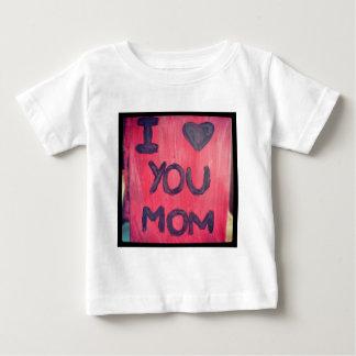 I <3お母さん ベビーTシャツ