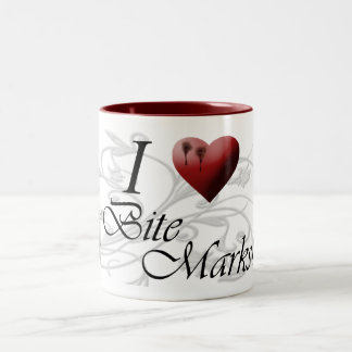 I <3かみ傷の印 ツートーンマグカップ