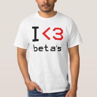 I <3ベータ2 Tシャツ