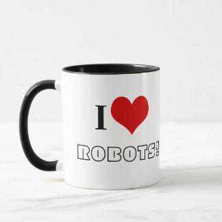 I <3ロボット! マグカップ
