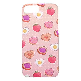 I <3朝食のiPhone 7の場合 iPhone 8/7ケース