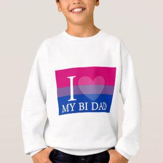 I <3私のBiのパパ スウェットシャツ
