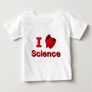 I <3科学 ベビーTシャツ