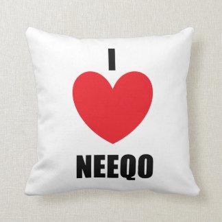 I <3 NEEQOの枕 クッション