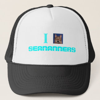 I <3 SEANANNERS キャップ