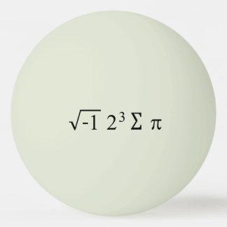 I 8つの合計piのおもしろいな数学の同等化Pi日 ピンポンボール