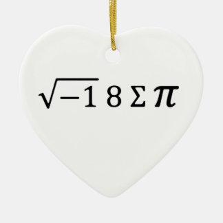 I 8つの合計Pi セラミックオーナメント