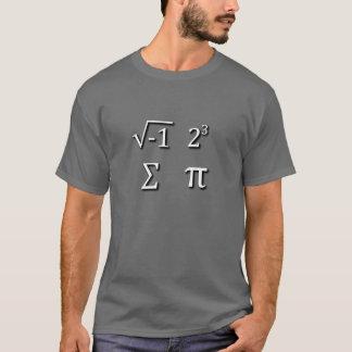 I 8つの合計Pi Tシャツ