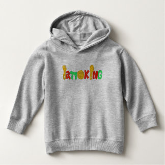 I am king kids hooted pullover  キッズ パーカー パーカ