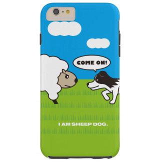 I AM SHEEP DOG Tough iPhone 6 Plus ケース