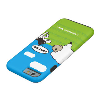 I AM SHEEP DOG Vibe iPhone 6 ケース