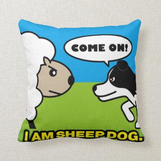 I am sheepdog!クッション クッション