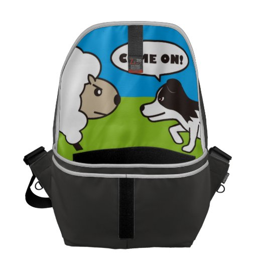 I AM SHEEPDOG.メッセンジャーバッグ(M) メッセンジャーバッグ