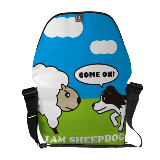 I AM SHEEPDOG.メッセンジャーバッグ(M)OUTSIDE クーリエバッグ