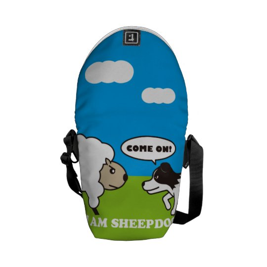 I AM SHEEPDOG.メッセンジャーバッグ(S)OUTSIDE メッセンジャーバッグ