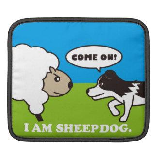 I AM SHEEPDOG iPadケース iPad スリーブ