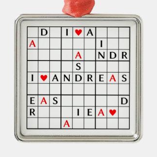 I♥ANDREAS メタルオーナメント
