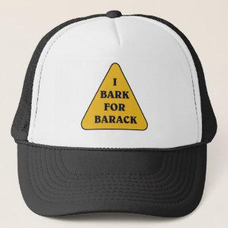 I-BARK-FOR-BARACK キャップ