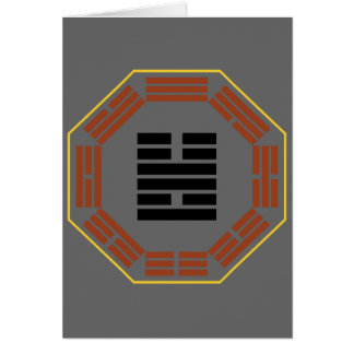 "I Chingの六芒星55 Feng ""豊富"" カード"
