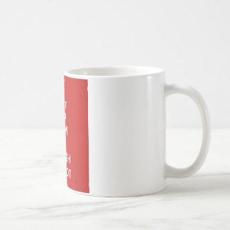 I Cntは平静Imのトルコのキプロス人を保ちます コーヒーマグカップ