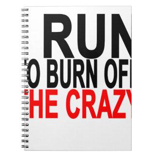I crazy.pngを燃焼させるために走られる ノートブック