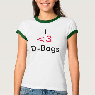 I                                Dバッグ、<3 Tシャツ