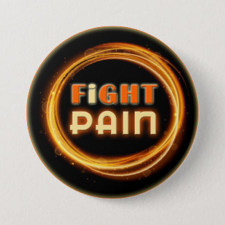 I Fight Pain 缶バッジ
