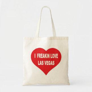 I Freakin愛ラスベガスの予算のトートバック トートバッグ