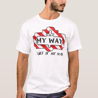 I.G.I. 私の方法 Tシャツ