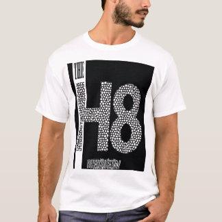 I H8の検討のmicrofiberの妻虐待者 Tシャツ