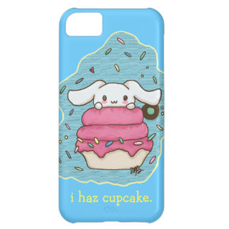 I hazのカップケーキのかわいいバニーのデザイン iPhone5Cケース