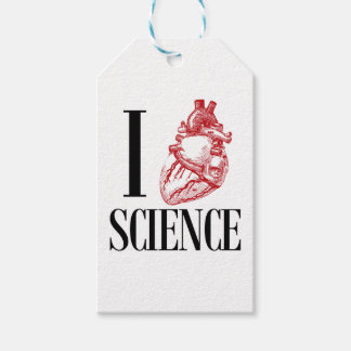 I heart science ギフトタグ