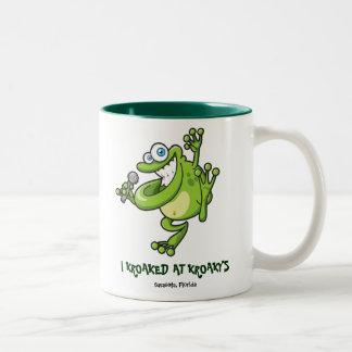 I KroakyのマグのKroaked ツートーンマグカップ