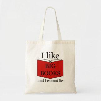 I Like Big Books トートバッグ