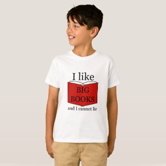 I Like Big Books Tシャツ