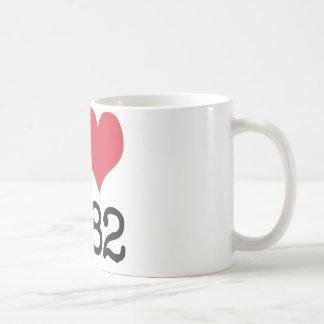 I Love1982プロダクト及びデザイン! コーヒーマグカップ