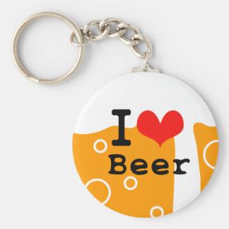 I Love Beer キーホルダー