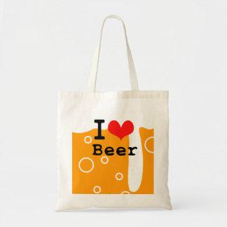 I Love Beer トートバッグ