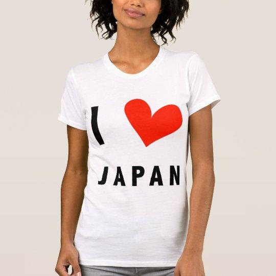 I LOVE JAPAN T-Shirt Tシャツ