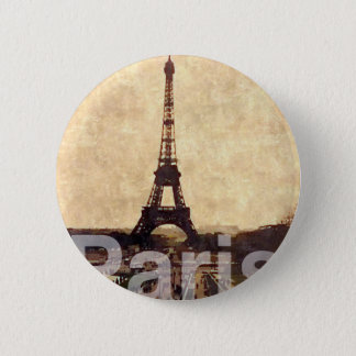 I Love Paris 5.7cm 丸型バッジ