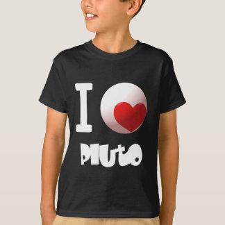 I LOVE Pluto Tシャツ