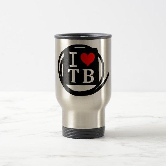 I LOVE TB Frost Glass (1 Color) トラベルマグ