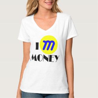 I Mのお金のTシャツ Tシャツ