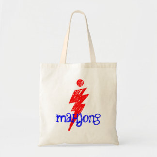 I mahjongの流行の専門家プレーヤーのトートバック トートバッグ