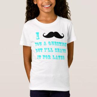 I mustache you a questionのTシャツ Tシャツ